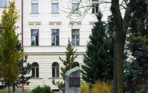 Jihlava. Památník 11 obětem popraveným v 50. letech komunistickou justicí