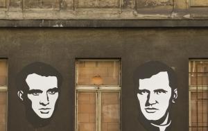 Praha 2. Pamětní desky Janu Palachovi a Josefu Toufarovi