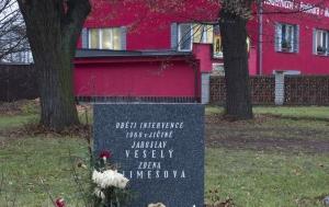 Jičín. Pomník obětem intervence 1968