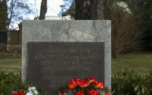 Pelhřimov. Pomník obětem komunistického režimu
