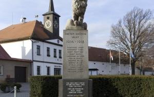 Vilémov. Pomník obětem válek a účastníkům protikomunistického odboje
