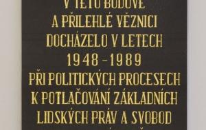 Litoměřice. Pamětní desky obětem komunismu