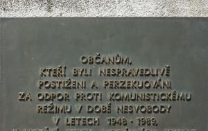Humpolec. Pomník obětem válek a doby nesvobody