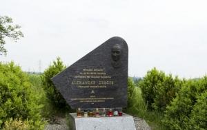 Humpolec. Pomník Alexandru Dubčekovi