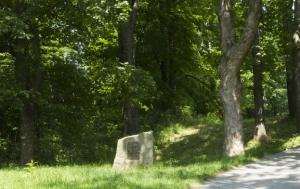 Svatý Hostýn. Pomník Rudolfu Plajnerovi