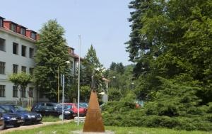 Vsetín. Památník obětem doby nesvobody 1948–1989