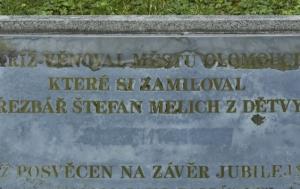 Olomouc. Kříž obětem víry v totalitních režimech