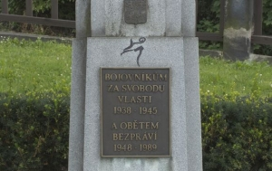 Jablonec nad Nisou. Pomník bojovníkům za svobodu a obětem bezpráví