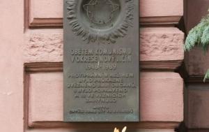 Nový Jičín. Pamětní deska obětem komunismu