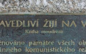 Janov nad Nisou-Hrabětice. Kříž obětem komunismu