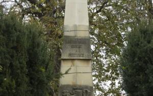 Nový Bydžov. Památník obětem válek, odboje a perzekuce