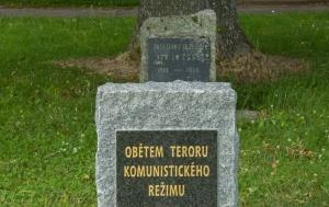 Počátky. Památník obětem komunismu