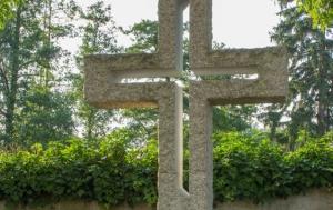 Sedlec-Prčice. Kříž obětem komunismu