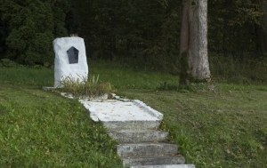 Pastviny. Pomník Františku Vaculovi