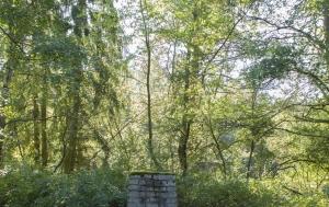 Lužná. Pomník ozbrojeného střetu na hranicích
