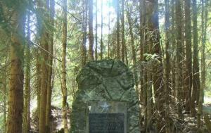 Laka. Pomník ozbrojeného střetu na hranicích