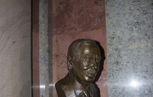Praha 1. Busta Václava Havla