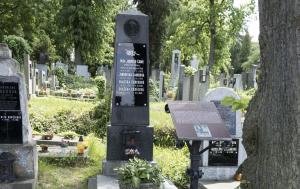 Plzeň. Čestný hrob Jindřicha Čadíka
