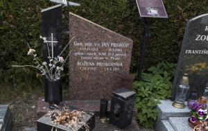 Plzeň. Čestný hrob Jana Prokopa