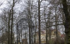 Plzeň. Pomník Jiřímu Trnkovi a umění bojujícímu proti totalitním režimům