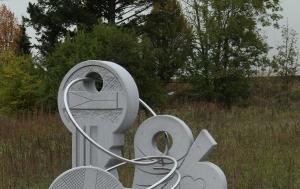 Jihlava. Památník 17. listopadu 1989