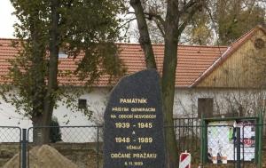 Vodňany-Pražák. Pomník období nesvobody