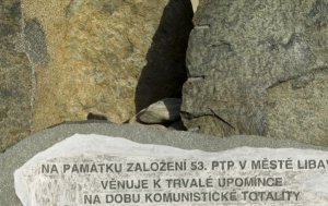 Libavá. Pomník 53. pomocnému technickému praporu