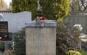 Vítkov. Hrob Jana Zajíce