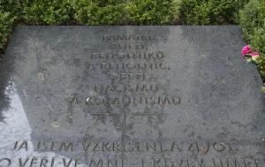 Praha 2. Symbolický hrob kněží, řeholníků a řeholnic