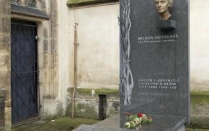 Praha 2. Symbolický hrob Milady Horákové a všech obětí a odpůrců totalitních režimů