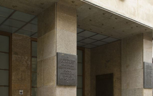 Praha 2. Pamětní deska obětem invaze v srpnu 1968