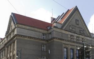Praha 1. Pamětní desky obětem z řad právníků a studentů práv
