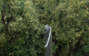 Klatovy. Pomník obětem komunistické zvůle