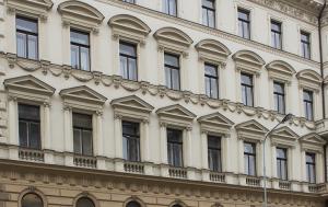 Praha 1. Pamětní deska Miloslavu Jebavému