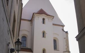 Praha 1. Připomínky Václava Havla v Pražské křižovatce
