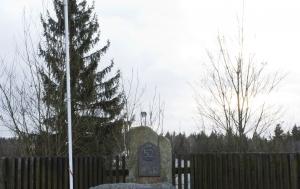 Zaječov (Svatá Dobrotivá). Pomník příslušníkům 52. pomocného technického praporu
