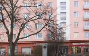Plzeň. Pomník Heliodoru Píkovi