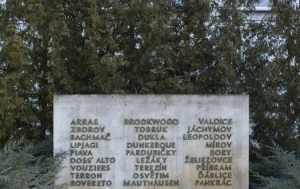 Hradec Králové. Památník tří odbojů
