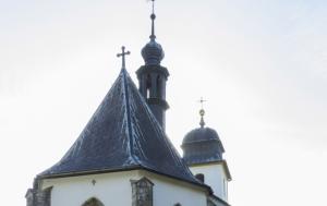 Dolní Újezd. Pamětní deska Martinu Františku Víchovi