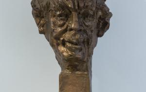 Karlovy Vary. Busta Václava Havla