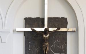 Želiv. Památník pronásledovaným kněžím a řeholníkům