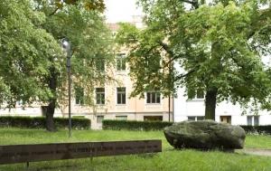 Písek. Pomník politickým vězňům 1948–1989