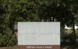 Brno-Černovice. Pomník obětem válek a násilí