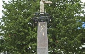 Brno-Bohunice. Pomník účastníkům protikomunistického odboje a obětem komunistické zvůle