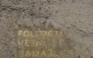 Všeruby.Památník obětem přechodů hranice 1948–1989