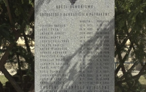 Uherské Hradiště. Pomník politickým vězňům