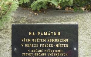 Pržno. Pomník obětem komunismu