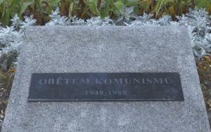 Mladá Boleslav. Pamětní deska obětem komunismu