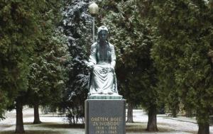 Mnichovo Hradiště. Pomník obětem bojů za svobodu