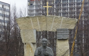 Praha 6. Pomník Josefu Beranovi